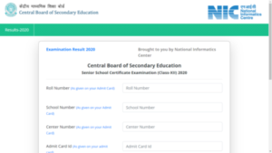 CBSE Class 12th Result 2020 Declared ! Check Result Now