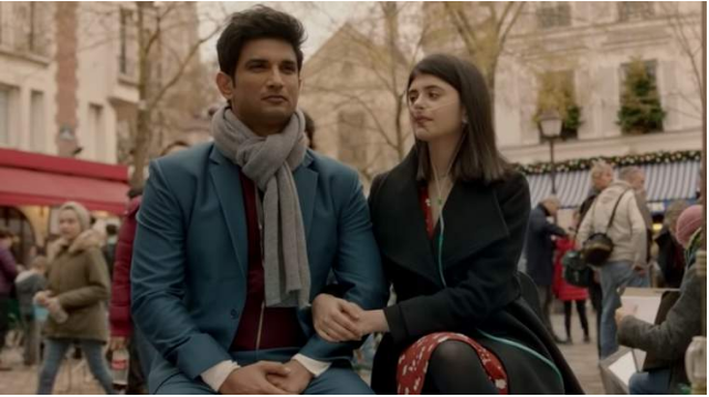 "Sushant Singh Rajput ""Dil Bechara"" To be Release Today Streaming On Disney + Hotstar at 7:30 PM."