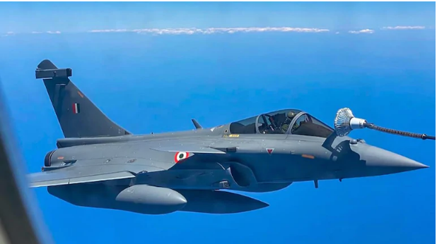 Iran Launches Missiles At Sea Near Rafale Jet's Al Dhafra Hideout, Indian Pilots Alerted