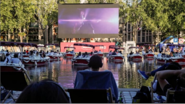 Movie Magic As The Iconic Paris Seine River Turns Into An Open-Air Cinema