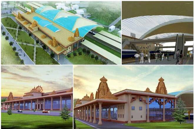 Ayodhya Railway Station To Be Built On The Lines Of Ram Mandir