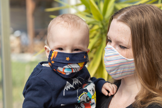 Public Health England Warns Child Under Three Years Of Wearing Masks Could Be Dangerous