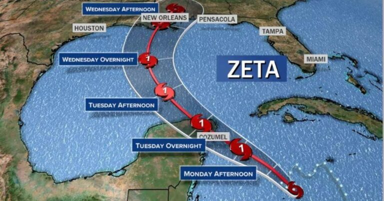 More Deaths, Millions Without Power After Zeta Thrashes Southern States