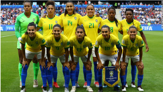 Brazil Announced Women's and Men's National Football Team To Get Equal Pay
