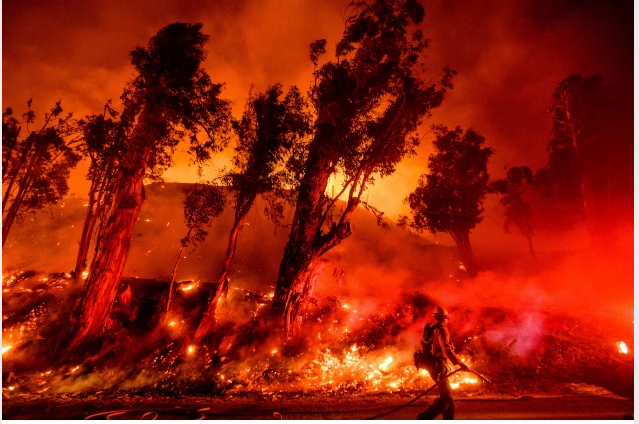 20 Million Acres Of Fire In California Wreaks Havoc, Records Persisted