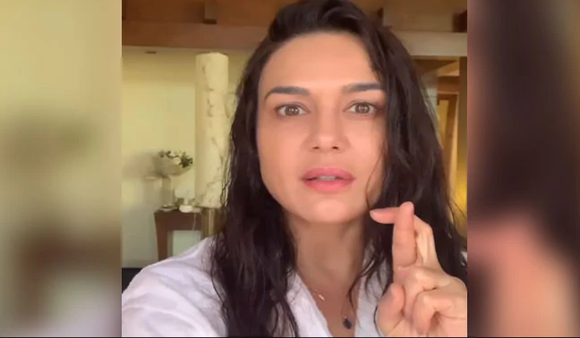 New Controversy In IPL, Preeti Zinta Got Angry On Umpire's Wrong Decision