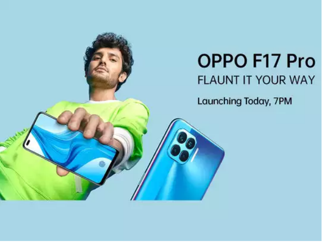 Oppo F17 and F17 Pro Smartphones To Be launched Today with 6 Cameras
