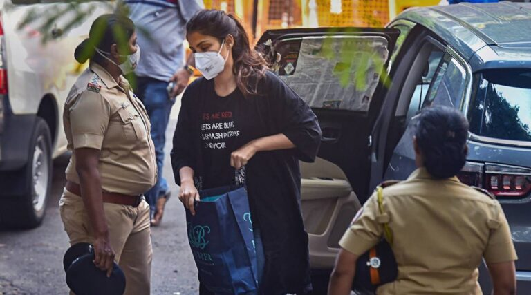Rhea Chakraborty Bail Plea Rejected, Sent to 14-Day Judicial Custody for Drug Pedalling