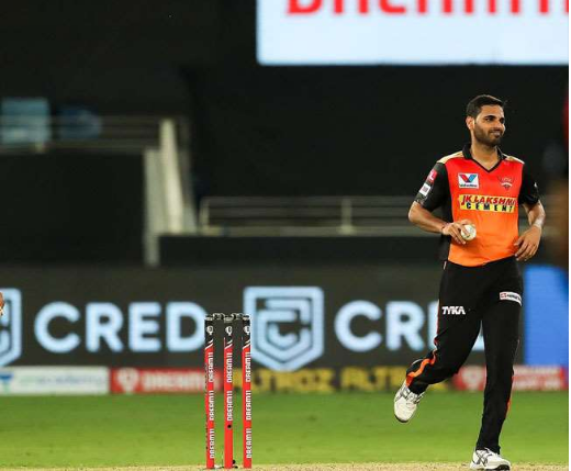 IPL 2020 :- Bhuvneshwar Kumar Ruled Out Of The Tournament Due To Hip Injury!