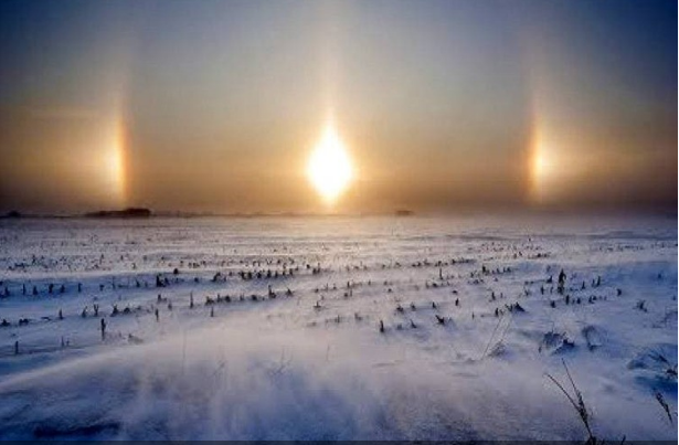 Miracles In China: Three Suns Appeared In The Sky Of NE China