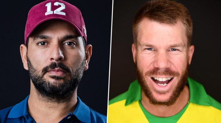 IPL 2020: Yuvraj Singh Made Fun After David Warner Launches New YouTube Channel