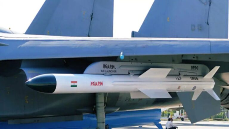 "India Test-Fires Its New Generation Anti Radiation Missile ""Rudram"" for IAF"