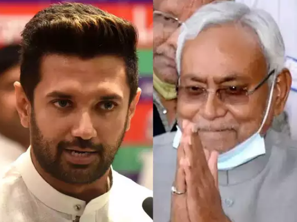 Chirag Tightens Even In Congratulating Nitish,