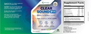 Clear Sound 911 Reviews :- Healthy Hearing Supporting Formula!