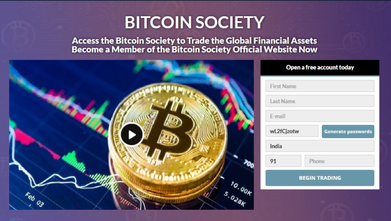 Bitcoin Society Reviews, Scam, Experiences 2021 – Trading Bot Put To The Test
