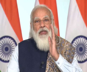 PM Modi Launches Vaccination Campaign Says, Vaccine Is Required With Two Yards And Masks