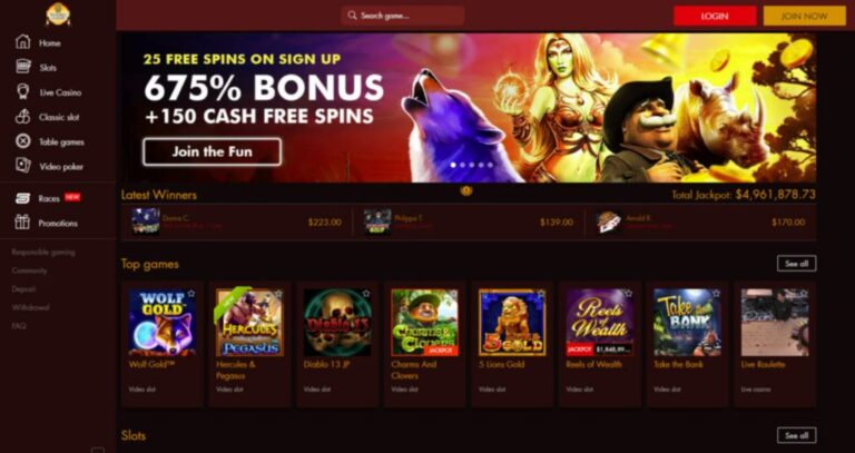 Thebes Casino Review (2021) – Get 100 Free Spins & Sign Up Bonus!