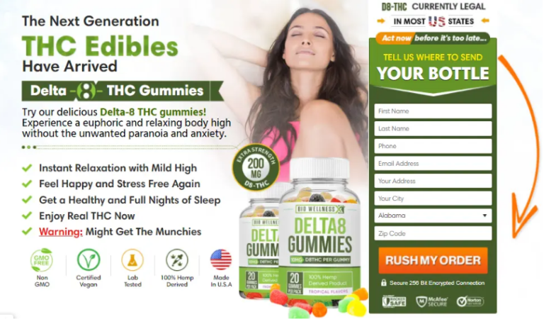 Delta 8 CBD Gummies Reviews :-Instant Relaxation With Mid High!