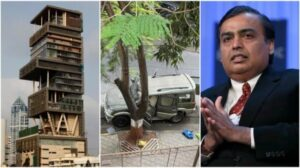 Heavy Security Deployed Outside Mukesh Ambani's House After A Suspicious Vehicle Found With Gelatin!