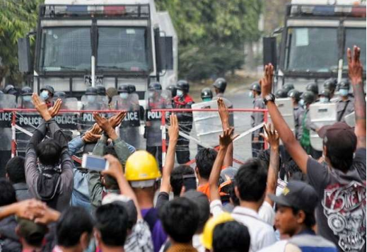 Myanmar: People Who Took To Streets Even After Army Threat, Three Protesters Killed