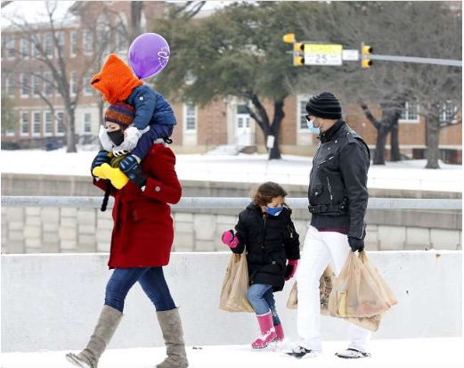 No Electricity, No Water. U.S. Reeling Under Severe Cold, Crisis To Save 1 Million People