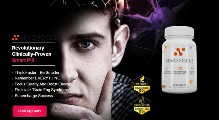 Advo Focus Brain Booster – Counter Fight With Memory Loss! Reviews