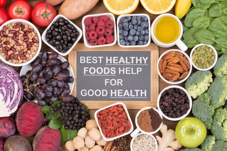 The Best Healthy Foods That Help for Good Health