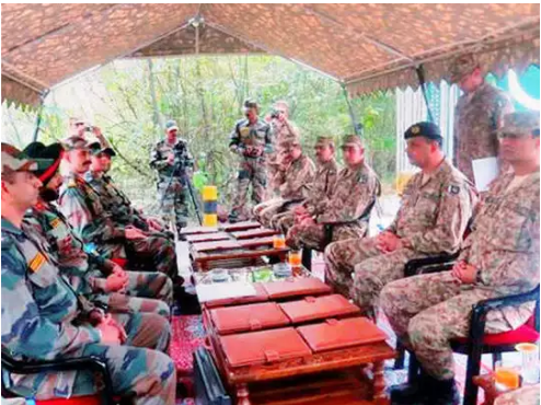 Peace Restored At LOC In Jammu And Kashmir, Commanders of India And Pakistan Hold Key Meeting