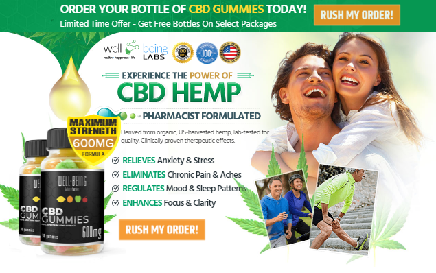 Well Being Cbd Gummies Reviews :- Cost, Benefits And Price!
