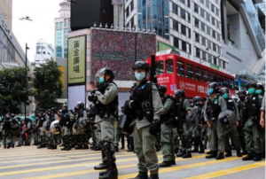 China Warns Not To Interfere With Foreign Forces In Hong Kong Case