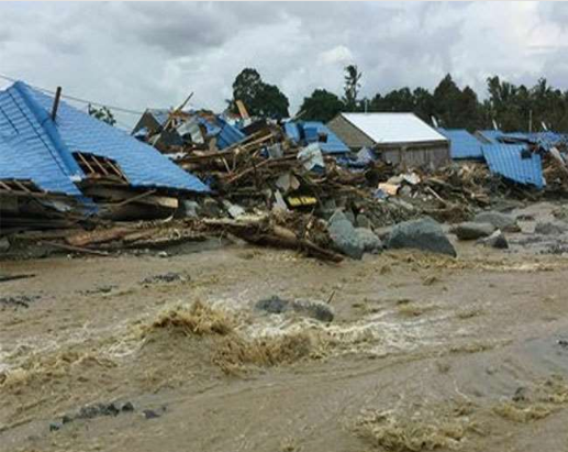 Indonesia Devastated By Heavy Rains, Floods And Landslides, 44 People Killed, Many Missing, Thousands Homeless