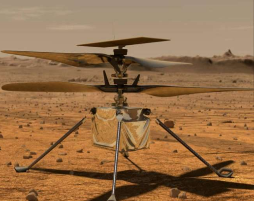 US Space Agency Creates History, NASA Helicopter Takes First Flight To Mars