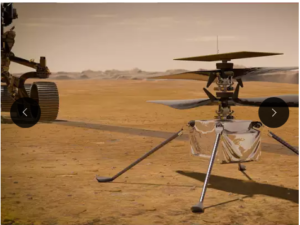 NASA's Ingenuity Chopper Landed On Mars Surface, Next Test- Red Planet's Chilly Nights