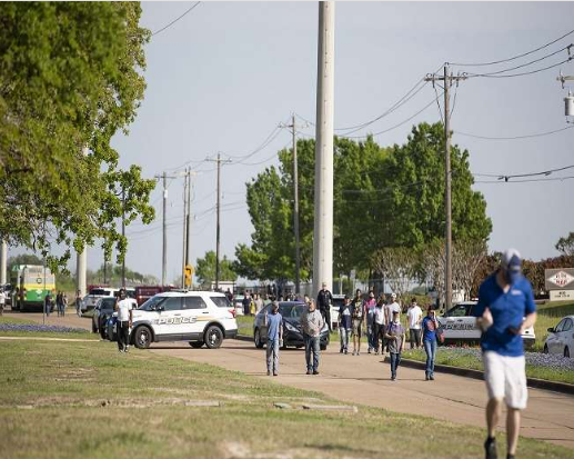 US: One Killed And Five Injured In Texas Firing, Suspect Detained
