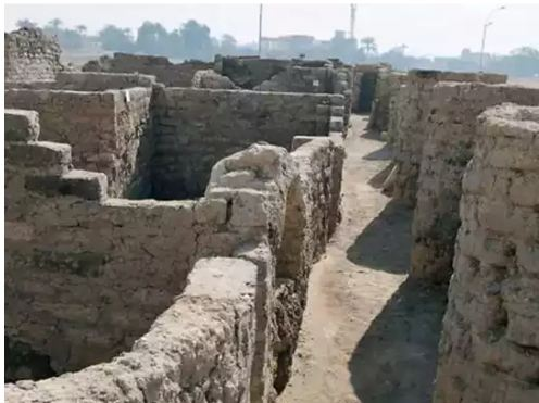 Wonderful 3000 Years Old 'Gold' City Found In Egypt
