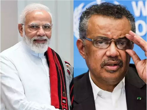 In The Global Fight Against Corona, The WHO Chief Again Praised PM Modi