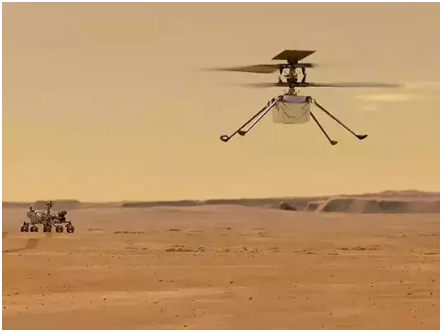 This Time Covered 164 Feet, The Third Successful Flight Of NASA's Ingenuity Helicopter On Mars