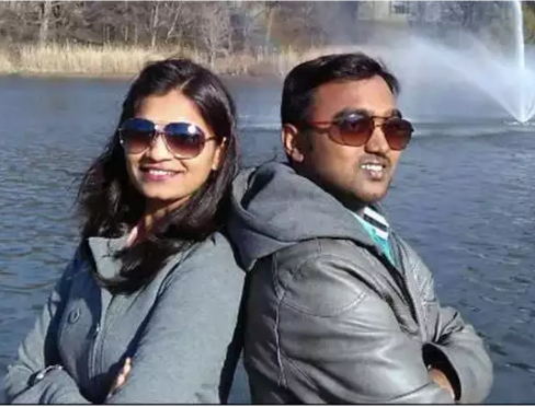 Indian Engineer And Pregnant Wife Found Dead In America, Innocent Child Weeping