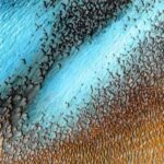 NASA Released A Picture Of Beautiful Blue Dunes Of Mars