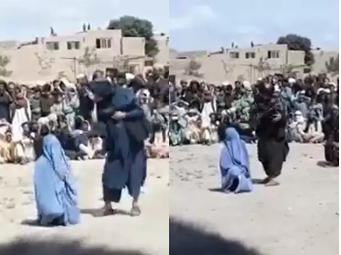 Taliban Brutal Punishment For Talking On Phone To Boyfriend, 40 Whips Kill Woman In Public