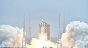 China says out-of-control space rocket booster probably won't cause any harm