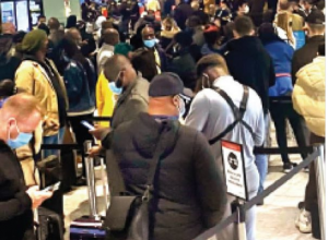 New Normal Debuts In Britain, 8-8 Hours Waiting At The Airport