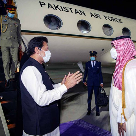 Imran Returned From Saudi Arabia With A Sack Of Rice