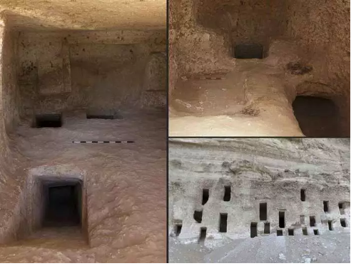 4200 Years Old 250 Amazing Mausoleums Found In Egypt, Rock-Cut Appearance