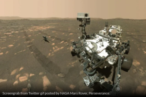 NASA's Perseverance Rover Picks Up The Creative Sound Of A Helicopter On Mars