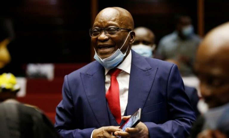 South Africa's ex-president Jacob Zuma gets 15 months in prison for contempt