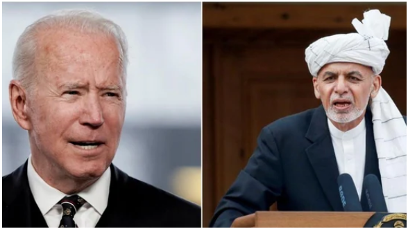 Biden Will Meet Ashraf Ghani On The Situation In Afghanistan!