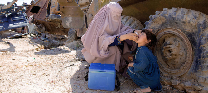 Violence During Polio Vaccination Campaign In Afghanistan, 5 Health Workers Killed; UN Condemned
