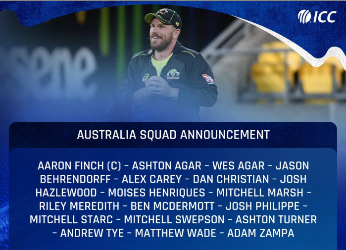 Australian Team Announced For The Tour Of West Indies And Bangladesh, These Players Got A Place