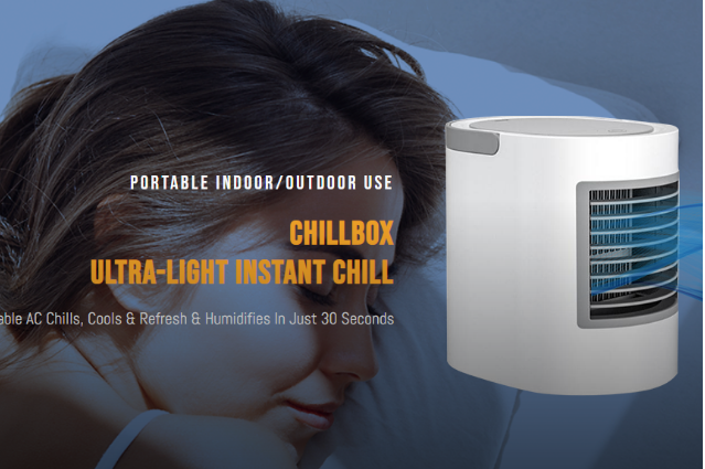 ChillBox AC Reviews :- Portable Indoor/Outdoor Chill AC!